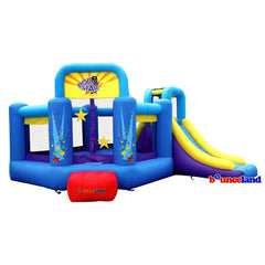 Bounceland Pop Star Bounce House with Slide - Bounce House -  Bounceland - Splashy McFun Watersports