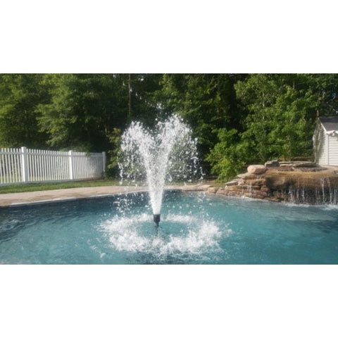 Power House .33 Hp Fixed-Base Shallow Pond Olympus Fountain
