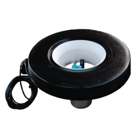 F250 Surface Aerator.  Circular black ring around a white inner shroud.