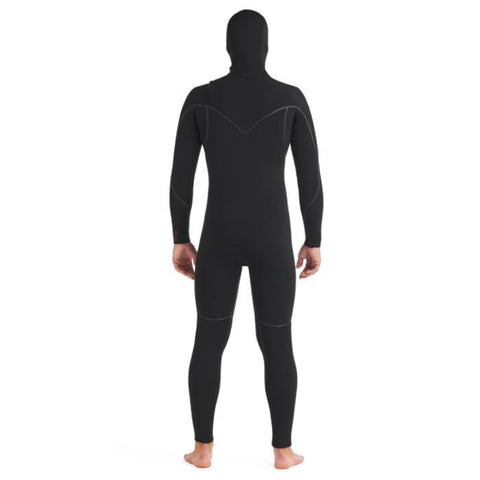 Body Glove Red Cell Hooded Wet Suit.- Black back view