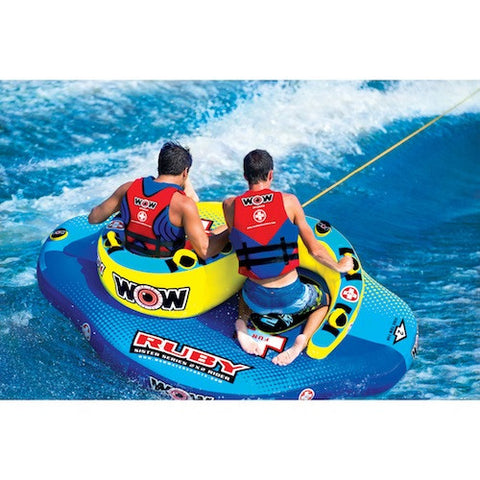WOW Ruby Sister Series Towable Boat Tube