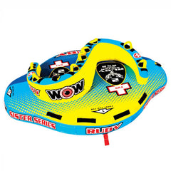 WOW Ruby Sister 2 Person Towable Boat Tube - Tubes & Towables -  WOW Watersports - Splashy McFun Watersports