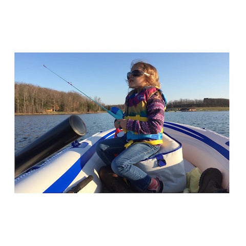 Sea Eagle 9 Inflatable Boat SE9 little girl fishing