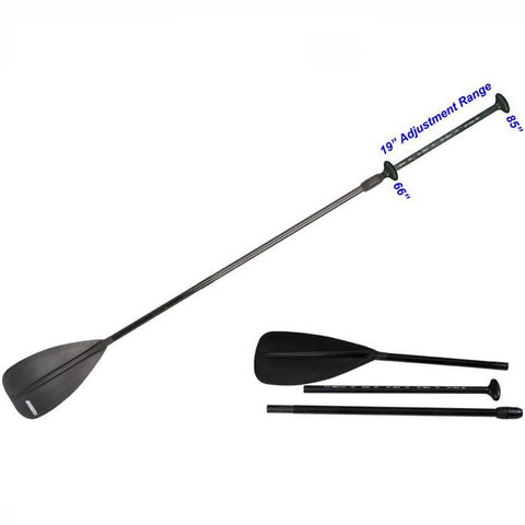 Black Sea Eagle SUP Paddle with adjustable handle.