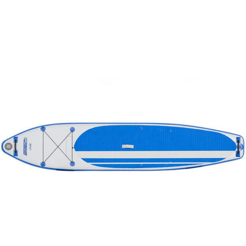 Sea Eagle Longboard 126 Inflatable SUP top view.