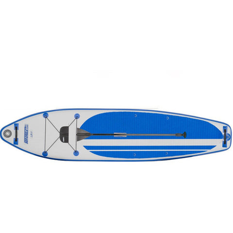 Sea Eagle Longboard 126 Inflatable SUP top view