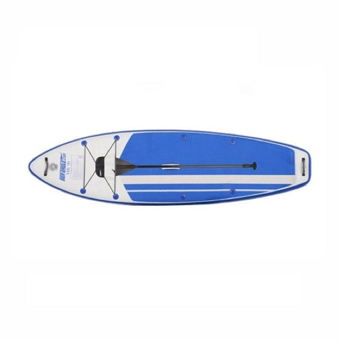 Sea Eagle HB96 Hybrid Inflatable SUP top view.