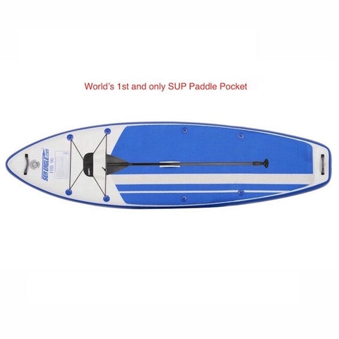Sea Eagle HB96 Hybrid Inflatable SUP top view