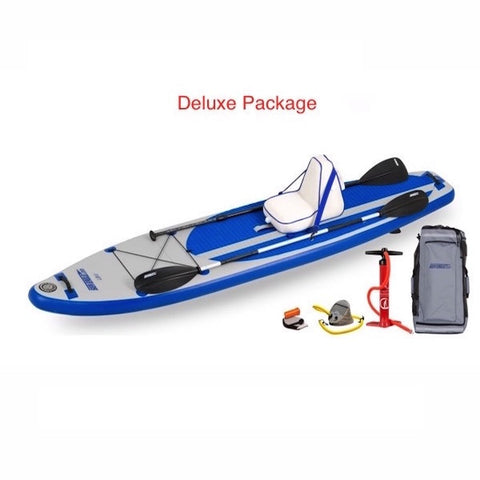 Sea Eagle Longboard 11 Inflatable Stand Up Paddle Board Deluxe Package