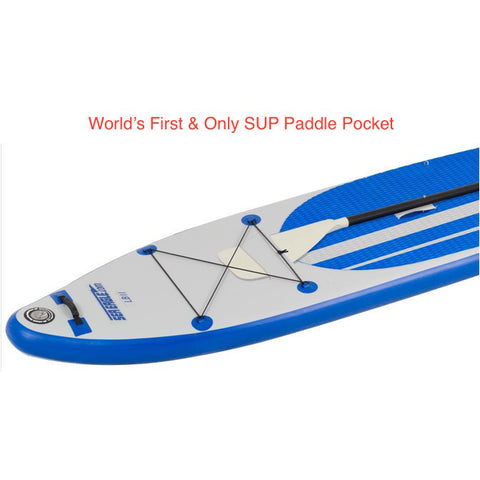 Sea Eagle Longboard 126 Inflatable Paddleboard top view