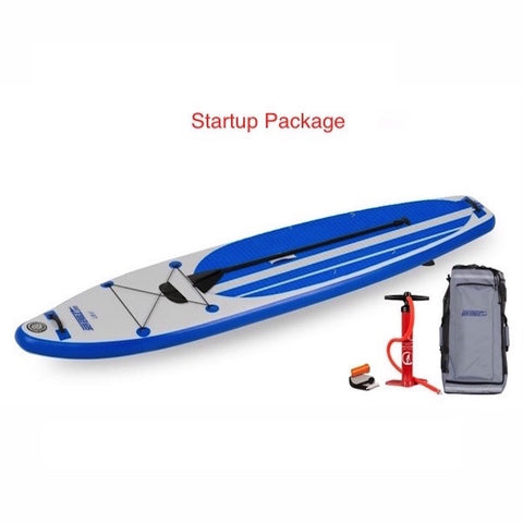 Sea Eagle Longboard 11 Inflatable Stand Up Paddle Board Start Up Package