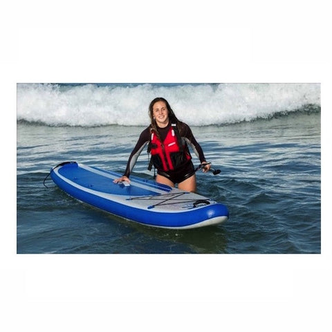 Sea Eagle Longboard 11 Inflatable Stand Up Paddle Board on the water