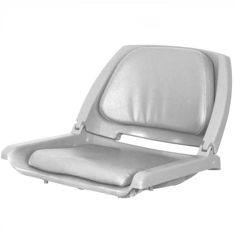 Sea Eagle Gray Swivel Seat close up