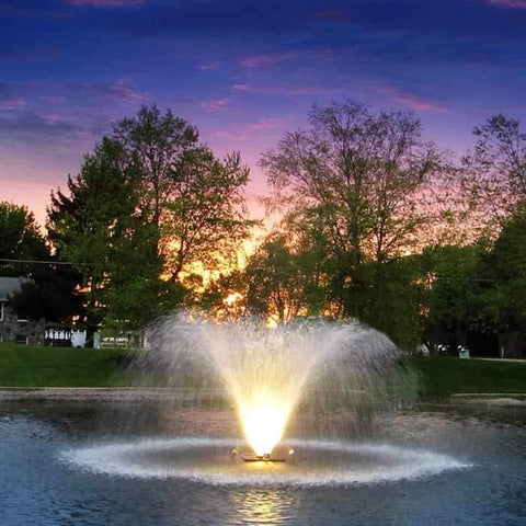 Scott Aerator Night Glo LED Residential Fountain Lights