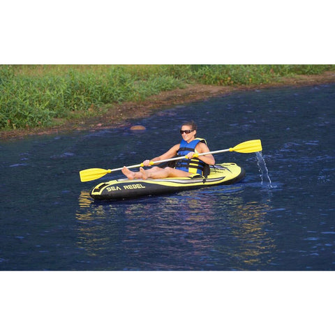RAVE Sea Rebel 1 Person Inflatable Kayak - Splashy McFun - 3