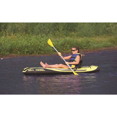 Rave Sea Rebel Inflatable Kayak - Kayak -  Rave - Splashy McFun Watersports