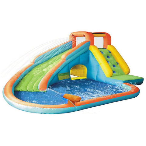 KidWise Splash Landing Waterslide with Water Cannon - Bounce House -  KidWise - Splashy McFun Watersports