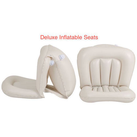 Sea Eagle 330 Sport Inflatable Kayak inflatable seats close up.