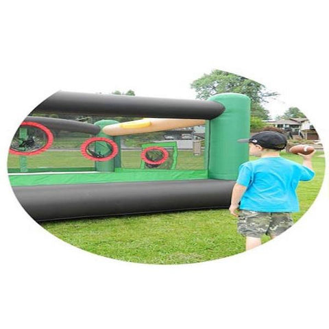 Island Hopper Sports and Hops 5 Activity Bounce House - outside view Splashy McFun