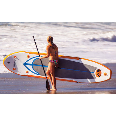 lbs. Max Wt: 230 lbs.  Advanced Elements Stiffy Inflatable Stand Up Paddle Board (SUP)