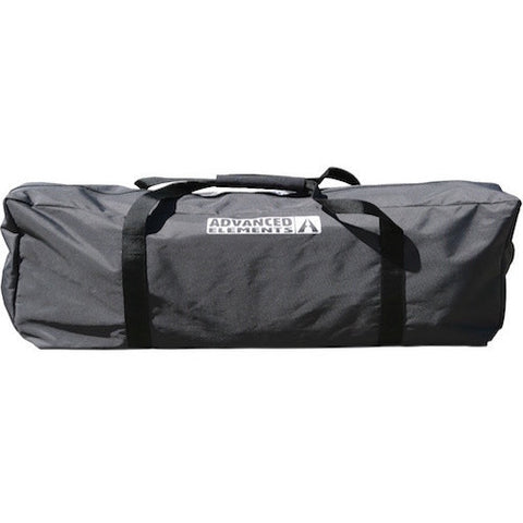 Black Carry Bag with Silver letter for the Advanced Elements StraitEdge Solo Inflatable Kayak