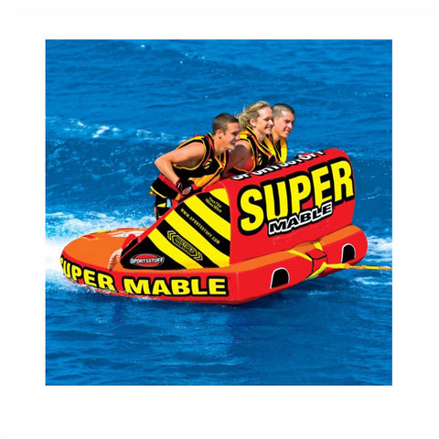 Sportsstuff Super Mable 3 Person Boat Tube on the water