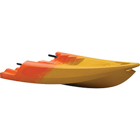 Point 65 Tequila GTX Modular Sit On Top Kayak Front Section Yellow and Orange