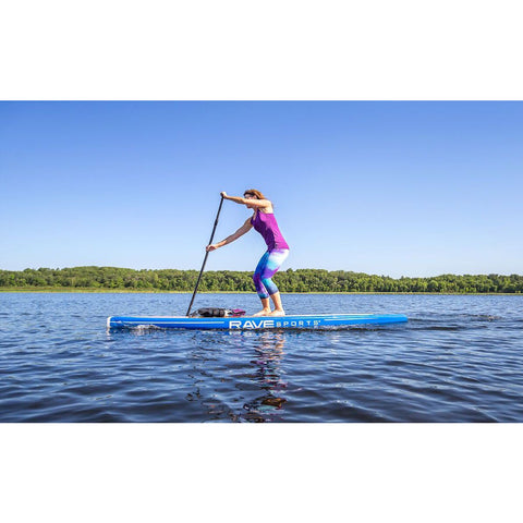 "RAVE Touring 11'6"" Stand Up Paddle Board (SUP) Blue"