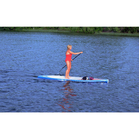 "RAVE Touring 11'6"" Stand Up Paddle Board (SUP) Pewter Blue"