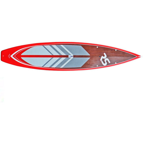 "RAVE Touring 12'6"" Stand Up Paddle Board (SUP) Red"