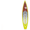 "Image of RAVE Touring 12'6"" Stand Up Paddle Board (SUP)Sea Grass"