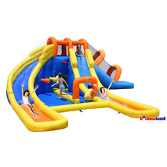 Bounceland Big Splash Triple Water Slide and Water Park - Bounce House -  Bounceland - Splashy McFun Watersports
