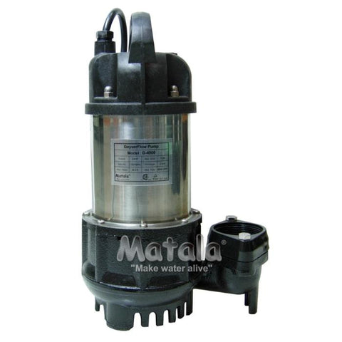 GeyserFlow Water Pumps 1/4 HP by Matala