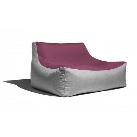 Jaxx Lavista Bean Bag Loveseat (Two-Tone)