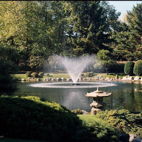Kasco 3 HP 3.3JF Floating Pond Fountain - Lake Fountain