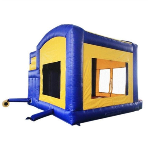 Aleko Commercial Grade Bounce House with Basketball Hoop, Slide, and Climbing Wall