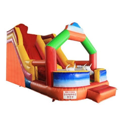 Aleko Commercial Bounce House with Inflatable Bull and Slide