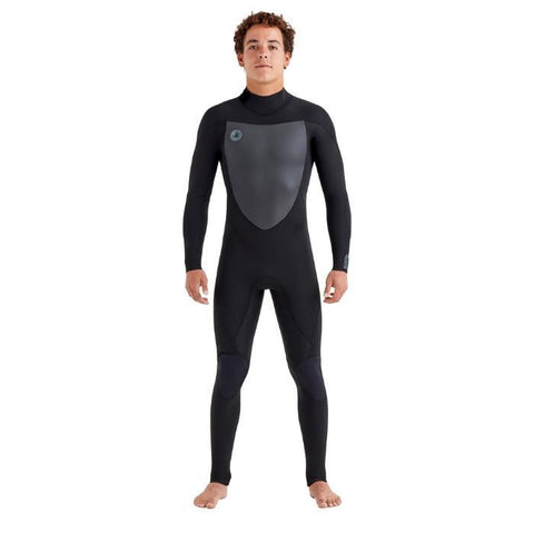 Body Glove Phoenix 3/2MM Back-Zip Mens Full Suit - Black