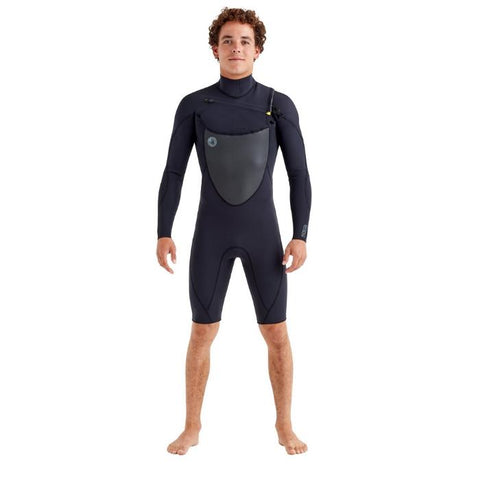 Body Glove Phoenix 2MM Chest-Zip Mens Springsuit - Black