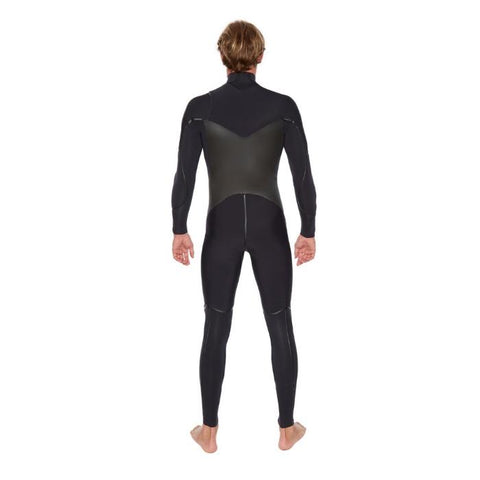 Body Glove Voodoo 4/3MM Slant-Zip Mens Full Suit - Black