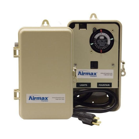 Airmax EcoSeries Fountain Control Panel, 115V/15A