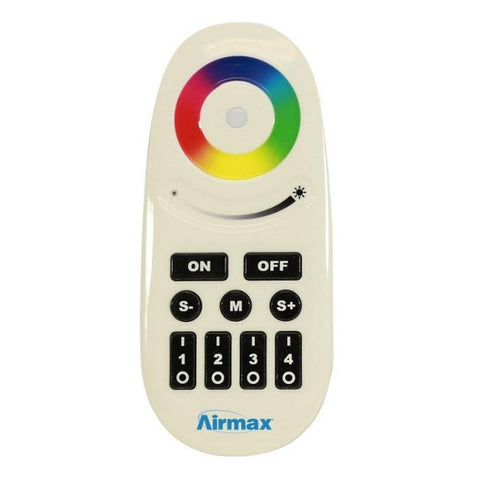Airmax RGBW Color-Changing LED Light Remote