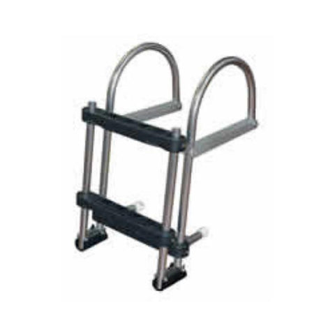 JIF Marine EPZ Pontoon Transom Boarding Ladder