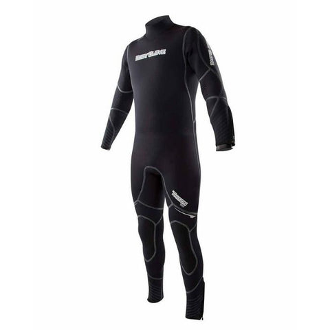 Body Glove Triton 5MM Back-Zip Mens Full Suit - Black