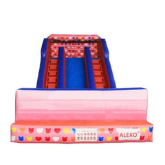 Aleko Commercial Inflatable Bounce House Water Slide with Pool