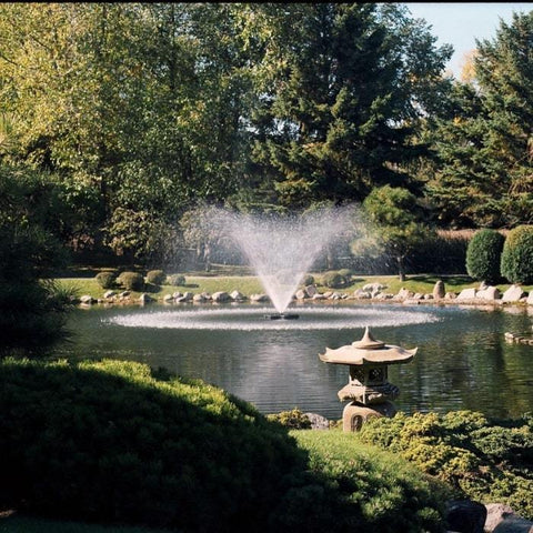 Kasco 2 HP 2.3JF Floating Pond Fountain - Lake Fountain