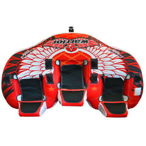 Rave Warrior III 3 Person Towable Boat Tube