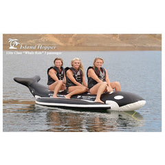 Island Hopper 3 Person Whale Ride Banana Boat Tube