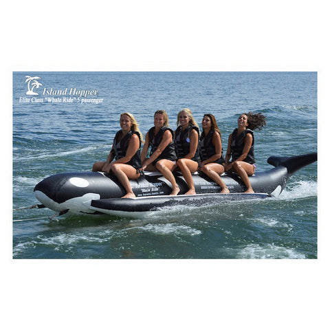 Island Hopper 5 Person Whale Ride Banana Boat Tube - Tubes & Towables -  Island Hopper - Splashy McFun Watersports