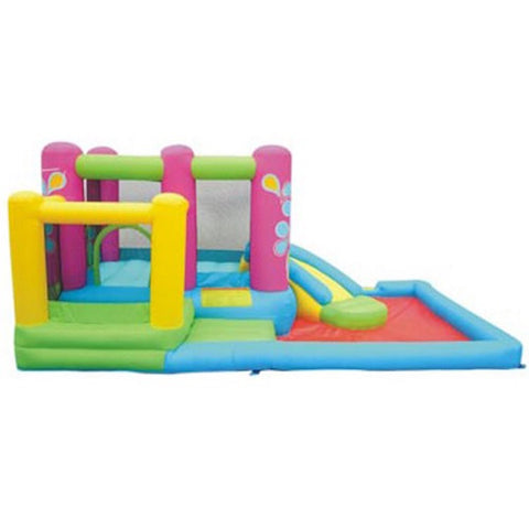 KidWise Little Sprout All in One Bounce N Slide Combo - Bounce House -  KidWise - Splashy McFun Watersports